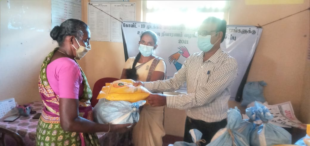 Humanitarian Project in Collaboration with Tamil Aid & IOC Tamil Radio UK